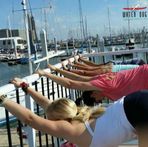 Boat Barre classes at Water Dog