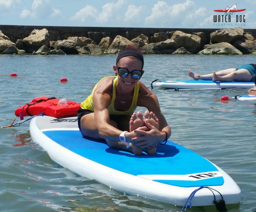Surfer Girl and Corpus Christi Yoga