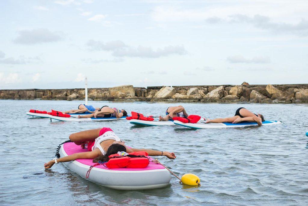 Gentle Yoga at Water Dog Corpus Christi