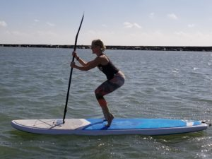 SUP Barre and SUP Pilates at Water Dog Corpus Christi