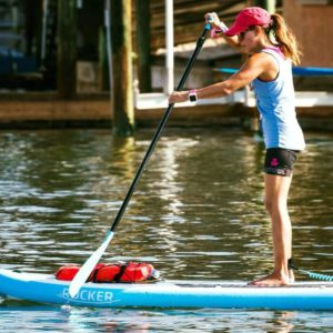 Paddleboarding in Corpus Chrisiti with Water Dog