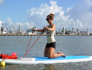 Water Dog SUP Fit Fusion classes