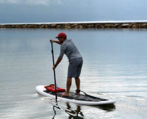 Paddle in the Corpus Christi Marina