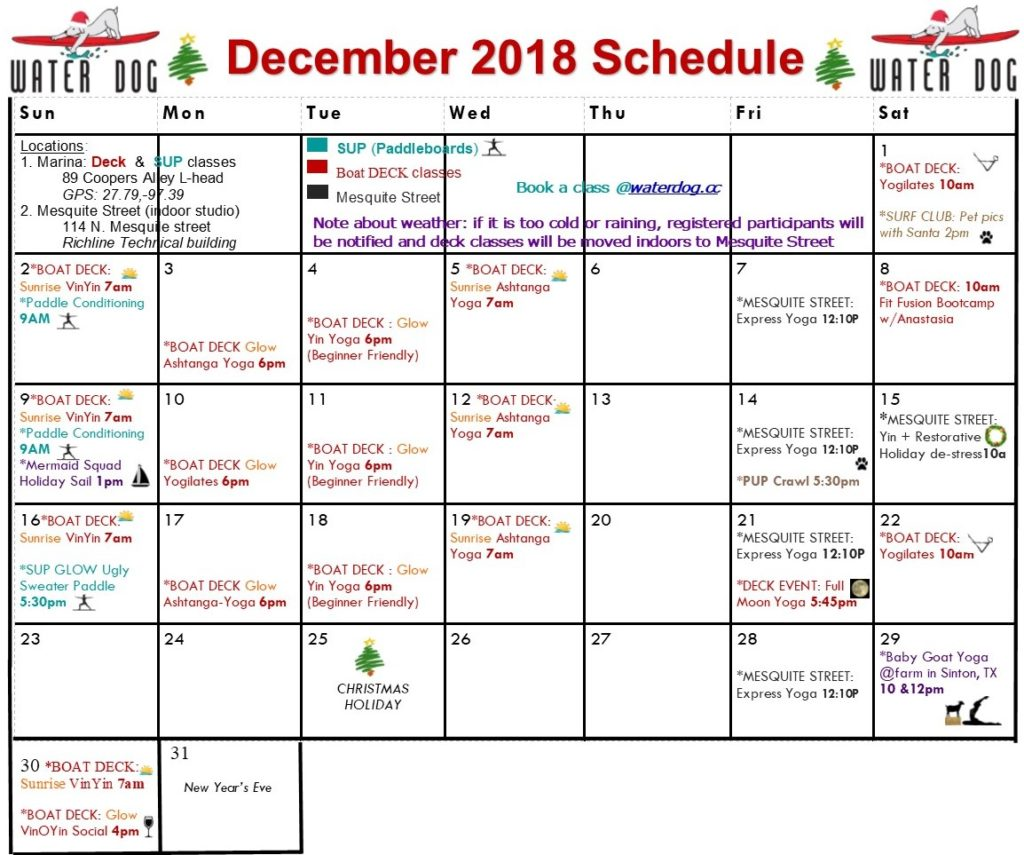 corpus christi events in december