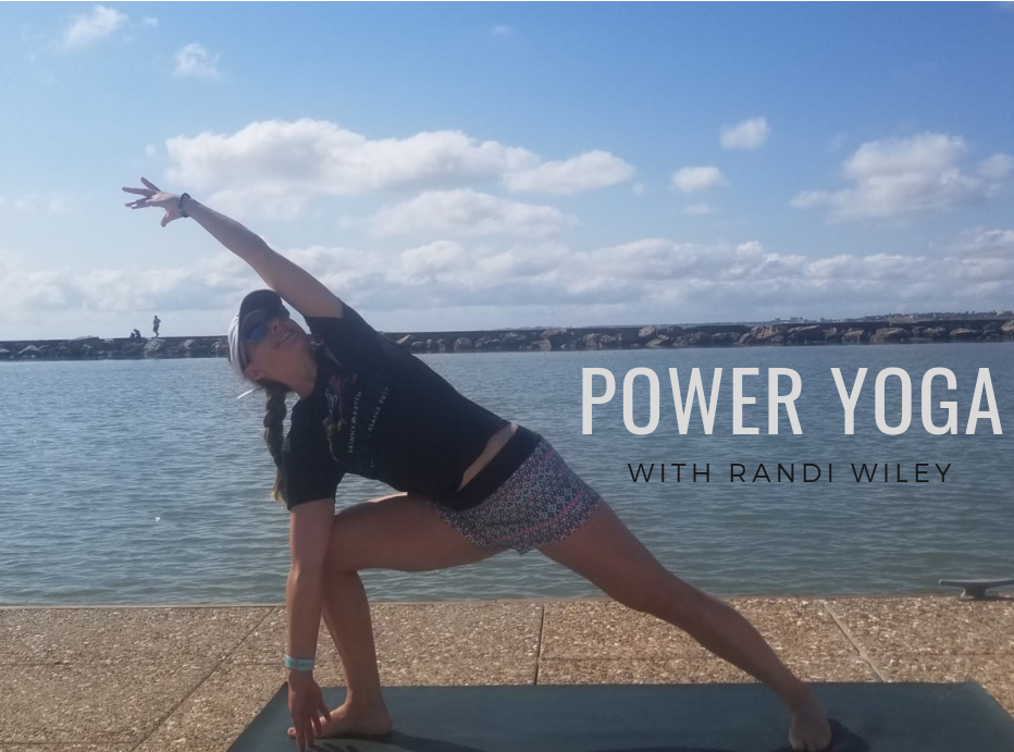 Power Yoga with Randi Wiley at Water dog yoga