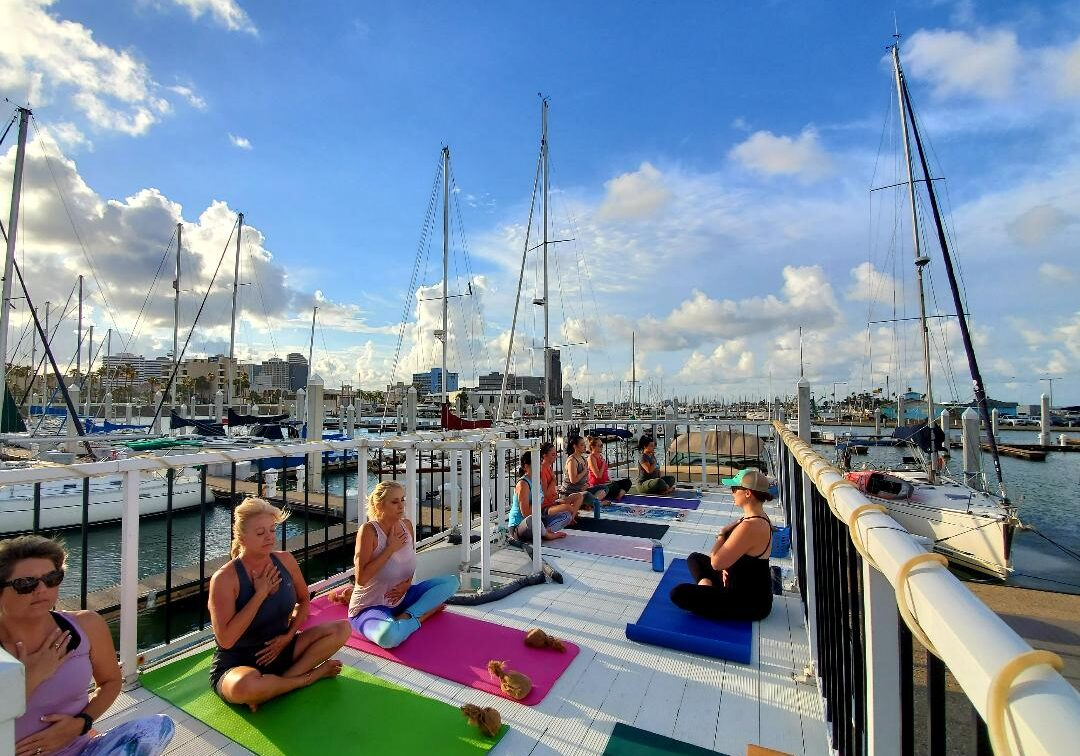 Houseboat Yoga studio